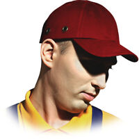 Anstoßkappe Schutzhelmkappe Hardcap Arbeitskappe ABS Cap Schutzhelm Helm Rot NEU