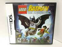LEGO Batman: The Videogame (Nintendo DS, 2008) - CARTRIDGE with Case & Insert
