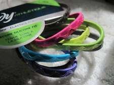 8 Goody Athletique Hair Bands Stay Put Slide Proof Free Hold Secure Silicone Fit