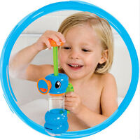 Pump Spray Water Bath Shower Playing Toys  Hippocampal Shape For Kids Baby