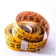 metro per sarta da 150 cm flessibile in plastica con stecca rigida cucito