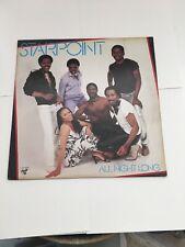 STARPOINT All Night Long vinyl LP Chocolate City 1982
