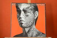 The Rolling Stones Tattoo you  EMI 1981 m. Texten Vinyl LP VG++ 1057