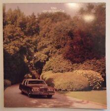 LINCOLN TOWN CAR orig 1986 USA Mkt Large Format Sales Brochure - Limousine