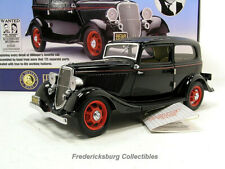 FRANKLIN MINT JOHN DILLINGER'S 1933 FORD DELUXE - WITH BOX & COMPLETE PAPERWORK
