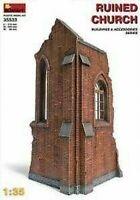 Ruined Church Diorama Plástico Kit 1 :3 5 Modelo Miniart