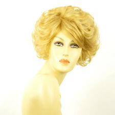 Perruque femme courte blond clair doré MARIE LOU LG26
