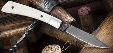 KK0164 Kizlyar Supreme Gents Folder AUS-8 Blade Bone Handles Made In Russia