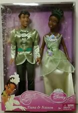 Disney Princess TIANA & NAVEEN Barbie Dolls W4763 Ages 3+  BRAND NEW!!