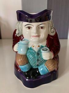 Vintage Antique Tobby Jug Mug Pitcher Porcelain British Royal