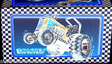 DRAGTOR RACING TRACTOR HYBRID DRAG 3 GEARS +R,N BRAKES EUROTOY  QUALITY TIN TOY