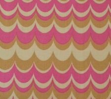 Heirloom Marbled Stripe by Joel Dewberry for FreeSpirit BTY Pink Gold Scallops