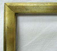 "ANTIQUE FITS 8"" X 10"" LEMON GOLD GILT WOOD PICTURE FRAME FINE ART VICTORIAN"