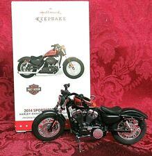 Hallmark 2015 Harley-Davidson Motorcycle Series Ornament #17~2014 Sportster 48