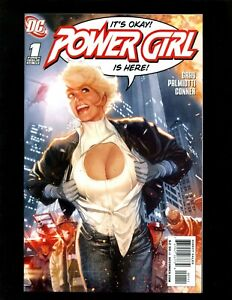 Power Girl #1 (2009) NM Adam Hughes Variant 1st Gerard Shugel as Ultra-Humanite