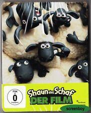 """""""SHAUN DAS SCHAF - DER FILM"""" - Aardman Animation Komödie - BLU RAY STEELBOOK"""