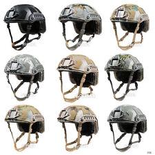 FMA Tactical Airsoft Paintball SF Super High Cut Helmet Protective M/L L/XL