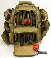 Range Bag with Large Padded Deluxe Tactical Divider and 9 Clip Mag Holder-CT
