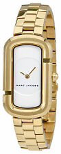 Marc Jacobs The Jacobs White Dial Ladies Gold Tone Watch MJ3501