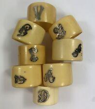 /finitura argento Fagiano segnaposto Holder Set di quattro/