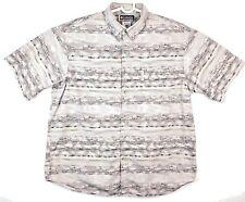 COLUMBIA Sportswear Fish Theme XL POLO Shirt