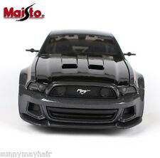 1/24 MAISTO Ford Mustang GT Street Racer Modified Die cast Car Model New