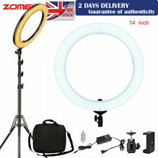 "ZOMEI 14"" LED Ring Light with Stand Dimmable LED Lighting For Photography Selfie"