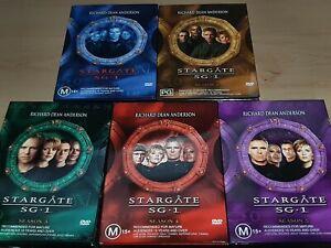 Stargate SG1 - HUGE Box sets - Seasons 1-5 **VGC**