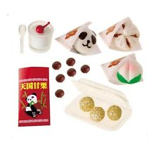 RE-MENT Have a Bite! #8, Chinese Bao & Snacks , 1:6 Barbie sized kitchen minis
