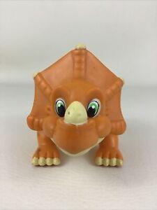 Land Before Time Chargin' Cera Triceratops Dinosaur Vintage 90s Dino Playmates