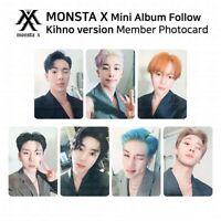 MONSTA X 7th mini album FOLLOW FIND YOU Kit Official Member Photocard KPOP K-POP