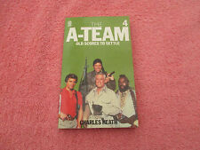 the a team old scores to settle no 4 charles heath target 1st ed p/b 1984