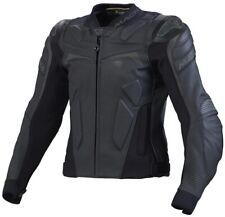 Macna Voltage Motorrad Lederjacke - schwarz - Größe 60