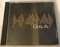 DEF LEPPARD Q&A (Promo CD, Elliott, Collen, Campbell, Savage, Allen)