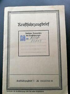 Kfz Brief Mecklenburg...Vorkrieg...Opel...tip Top...tolle Stempelung!!!