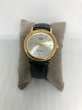 Casio MTP-1095 Quartz Analog Watch Gold Tone