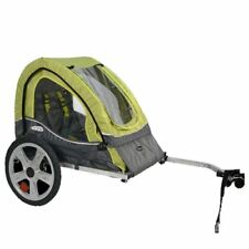 Bike Trailer Bicycle Carrier Baby Toddler Child Recreation Cycle Single 1 Seater