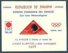 PANAMA - 1964 - Francobollo aereo stampato su foglietto portante sui margini