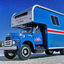 Rare - FRANK DiBELLA HORSEPALACE 1957 INTERNATIONAL R200 Moving Van - First Gear
