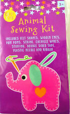Animal Felt Sewing Craft Kit For Kids Children Gift Beginner ELEPHANT Create Set
