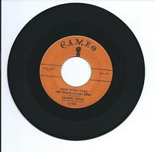 """1958 GEORGE YOUNG """"NINE MORE MILES"""" 45rpm 7"""""""