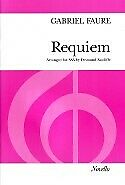 FAURE REQUIEM VOCAL SCORE SSA
