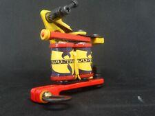 BOGEYMAN IRONS HAND MADE COLOUR PACKER TATTOO MACHINE - NO4 - PARTS-FRAME-COILS