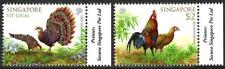 Singapore 1626-1627, MNH. Birds. Gray peacock pheasants, Red juunglefowl, 2013