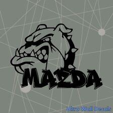 MAZDA BullDog Aufkleber für MAZDA 2 3 6 CX-3 CX-5 MX-5 Sticker Autoaufkleber Neu