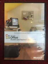 Microsoft Office 2003 – Student and Teacher Edition for the PC inc.