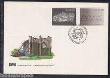 A 77 ) Irland : 508 - 509 FDC Cept 1983 - Große Werke des menschlichen Geistes