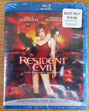 Resident Evil (Blu-ray Disc, 2008 Canadian) Region Free