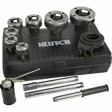 Klutch Ratcheting Pipe Threader Set - 12-Pcs.
