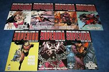SUPERIOR #1 2 3 4 5 6 7 1st print set MARK MILLAR ICON MILLARWORLD netfix NM